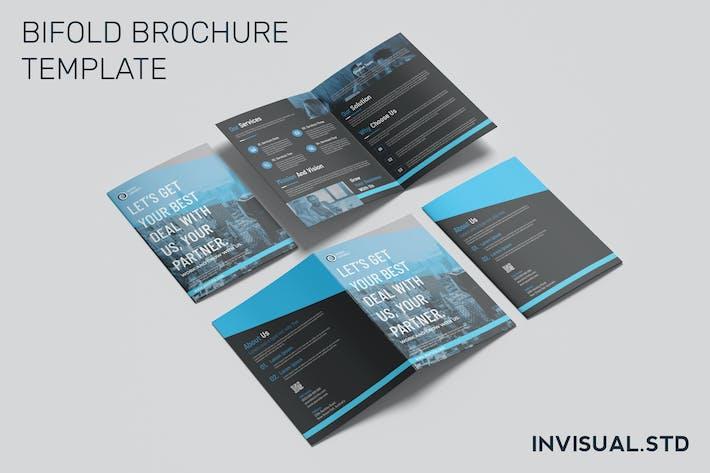 Thumbnail for Business Partner Bifold Brochure Template
