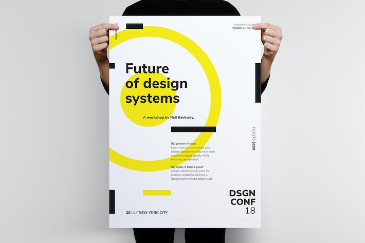 Thumbnail for DSGN Series 3 Poster / Flyer Template