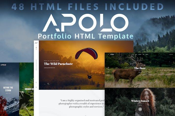 Thumbnail for APOLO - Portfolio HTML Template