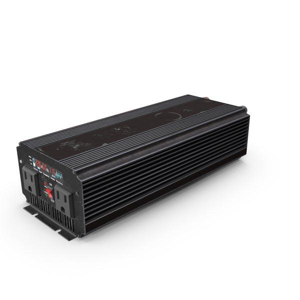 Power Inverter Black Used