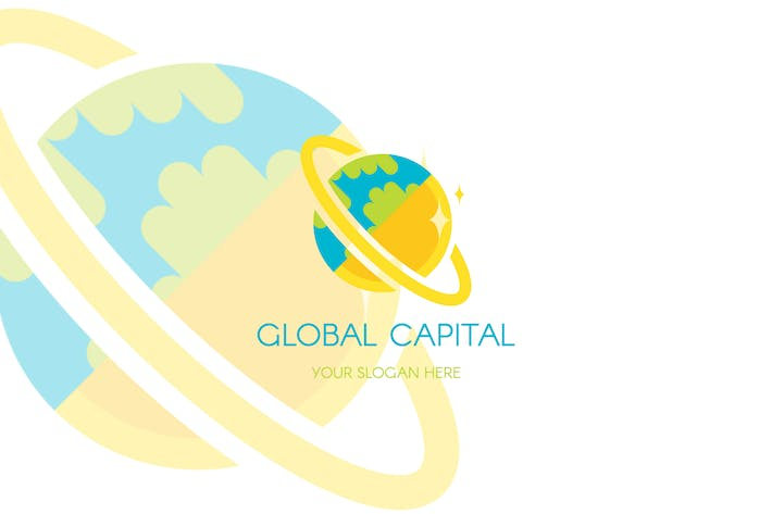 Thumbnail for Global Finance Capital Logo Template