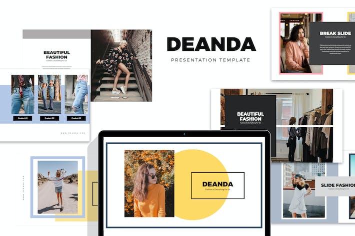 Thumbnail for Deanda : Fashion, Clothing & Lifestyle Powerpoint