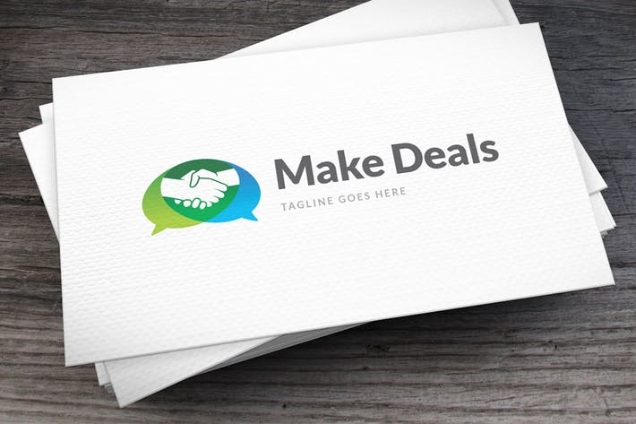 Thumbnail for Deal Talks Logo Template