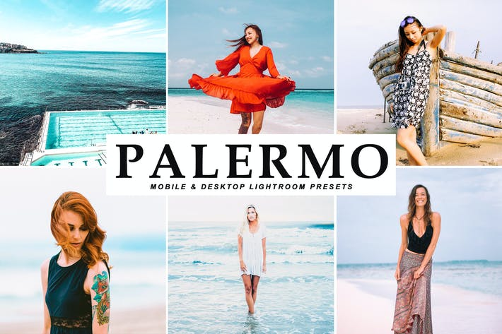 Thumbnail for Palermo Mobile & Desktop Lightroom Presets