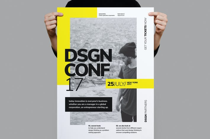 Thumbnail for Póster Diseño conferencia de diseño