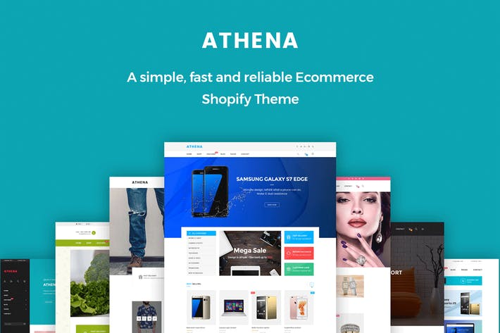 Thumbnail for JMS Athena - Ultimate Multipurpose Shopify Theme