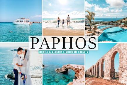 Paphos Mobile & Desktop Lightroom Presets