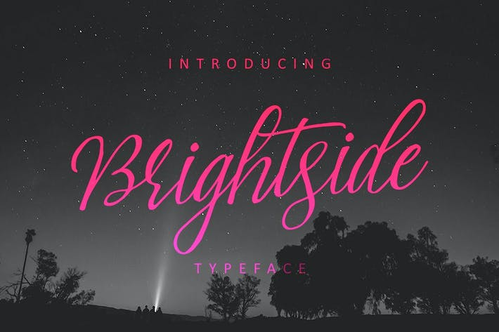 Thumbnail for Brightside Typeface