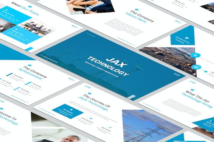 Thumbnail for Технология Jax - слайд Google