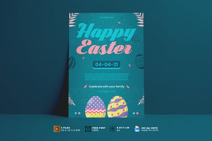 Easter Day Flyer Vol. 03