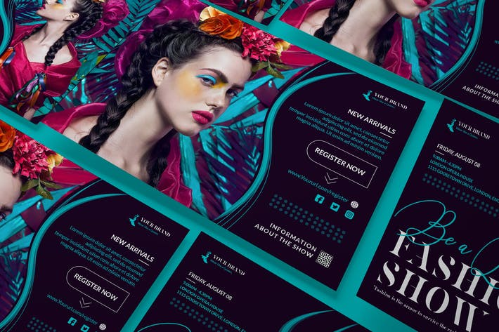 Thumbnail for Fashion Sale A5 Business Flyer