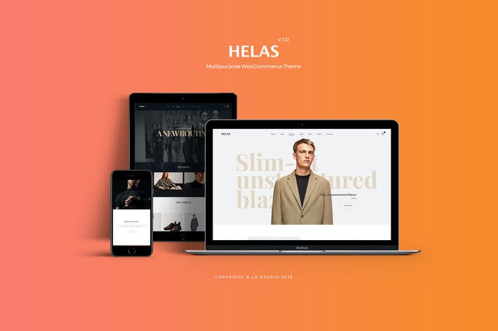 Thumbnail for Helas - Multipurpose WooCommerce Theme