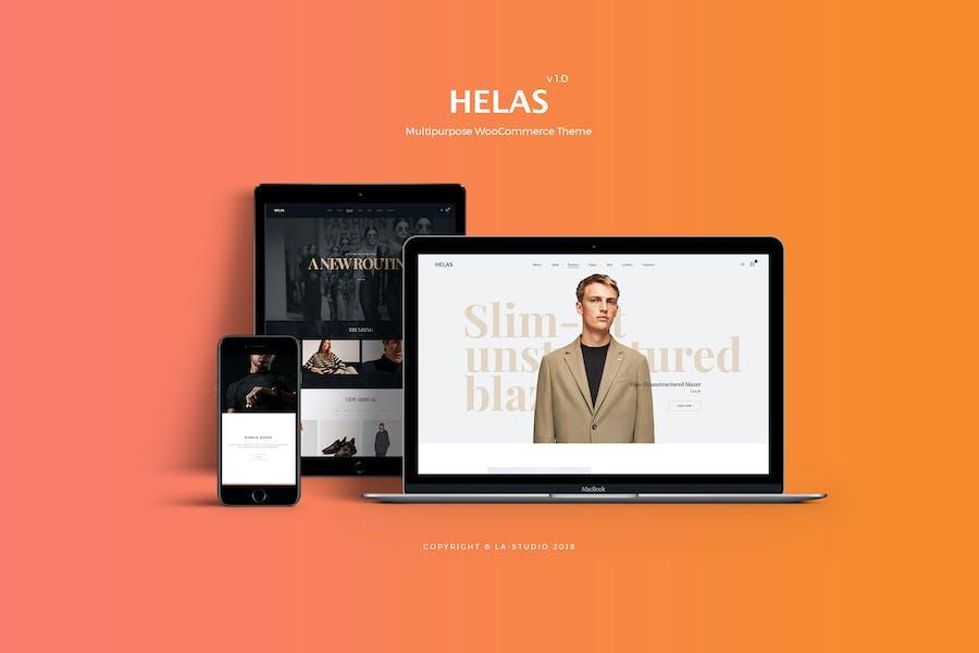 Helas - Многоцелевой WooCommerce Тема