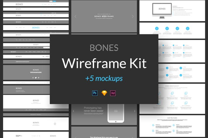 Thumbnail for Bones Wireframe Kit