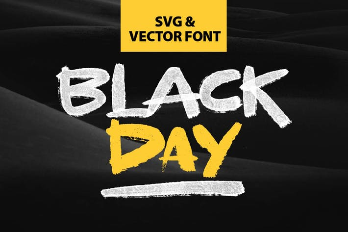 Thumbnail for BLACKDAY - SVG & VECTOR