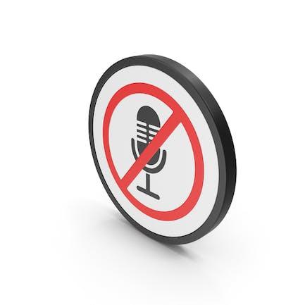 Icon No Microphone