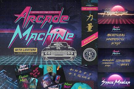 Fuente Retro de la máquina Arcade de los 80