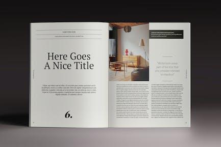Brogazine Indesign Vorlage