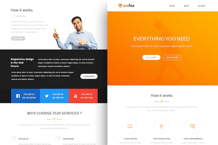Thumbnail for Wofox - Responsive Email Template + Online Builder
