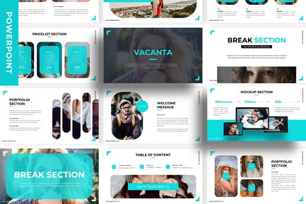 Vacanta - Business Powerpoint Template