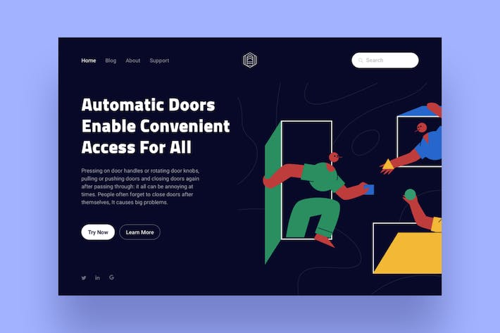 Thumbnail for Automation Landing Page Illustration
