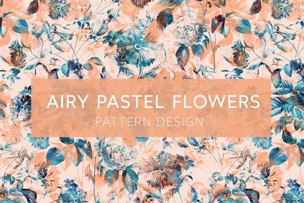 Airy Pastel Flowers