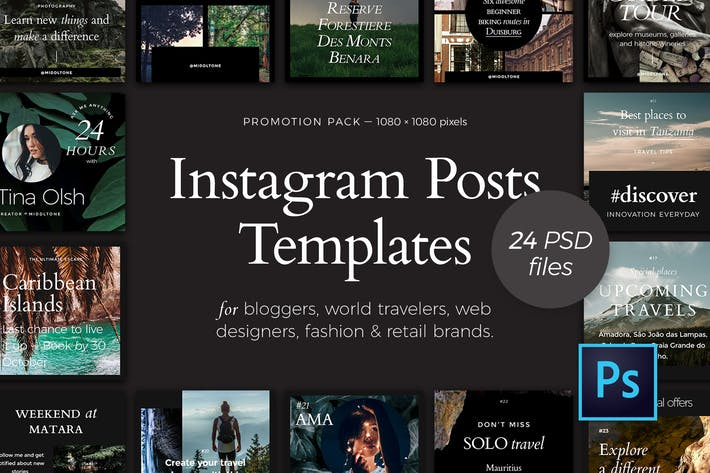 Thumbnail for Instagram Posts — Promotion Pack