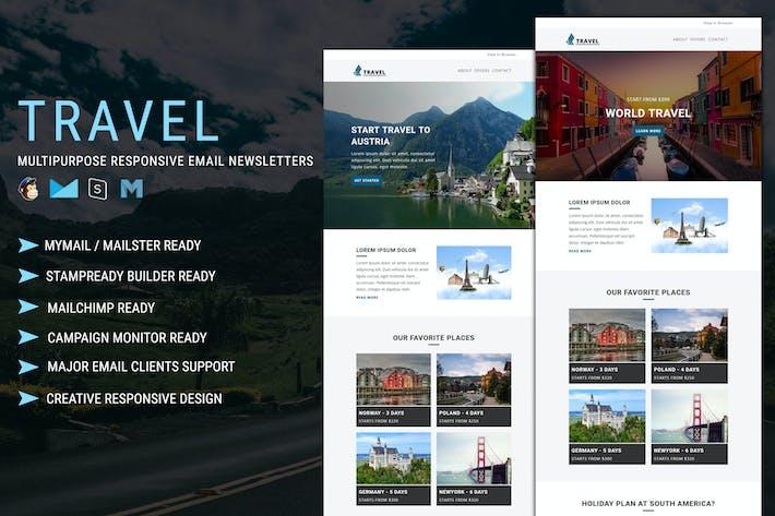 Travel - Multipurpose Responsive Email Template