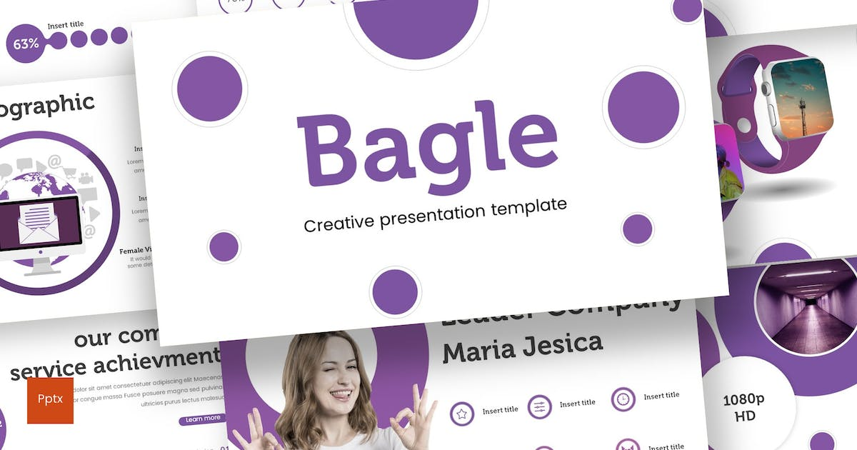 Download Bagle - Powerpoint Template by inspirasign
