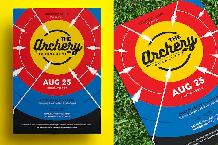 Thumbnail for Archery Tournament Flyer