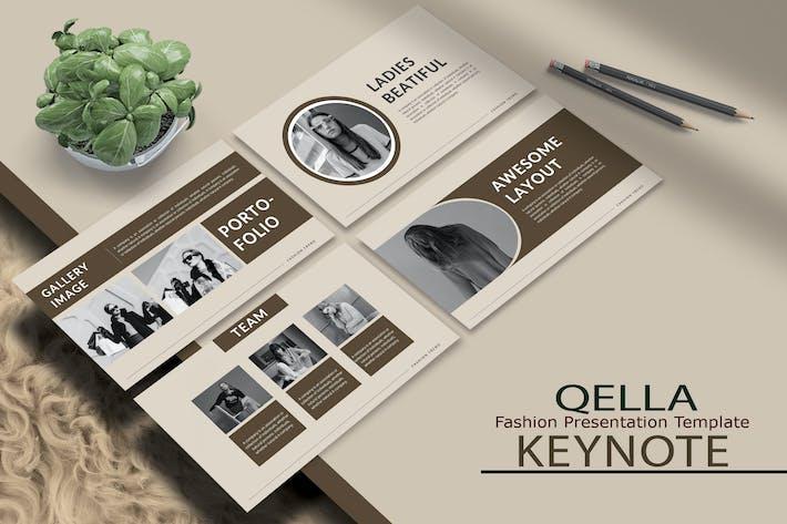 Thumbnail for QELLA - Мода Шаблон Keynote