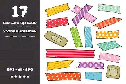 Cute Washi Tape Doodle