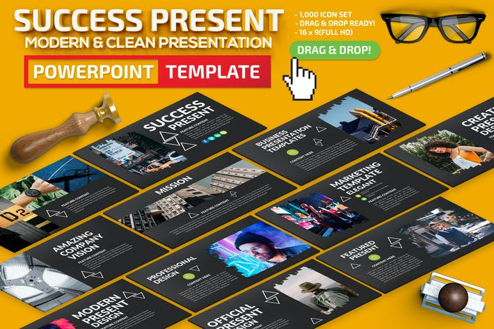 Thumbnail for Success Powerpoint Template