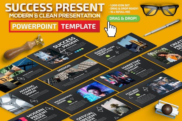 Thumbnail for Успешный Шаблон Powerpoint