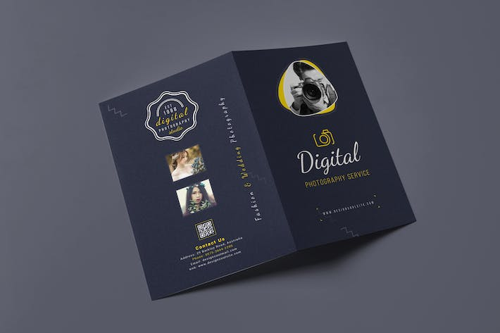 Thumbnail for Photography Bifold Brochure