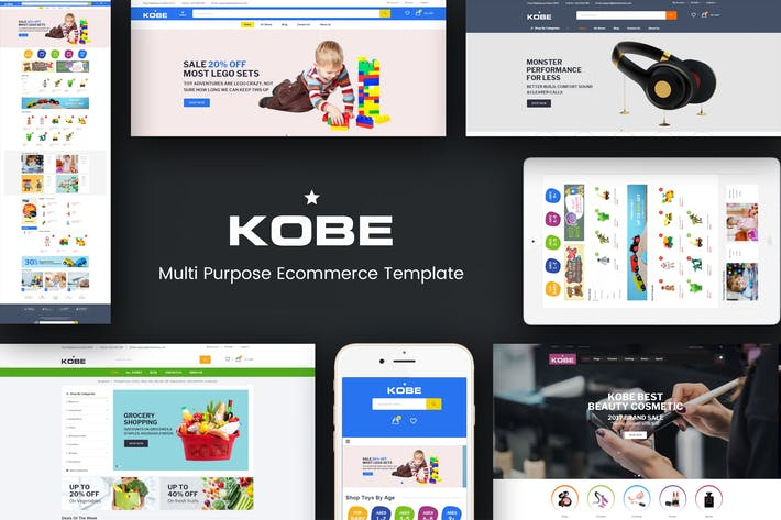 Thumbnail for Kobe - Multi Boutique Responsive Magento Thème