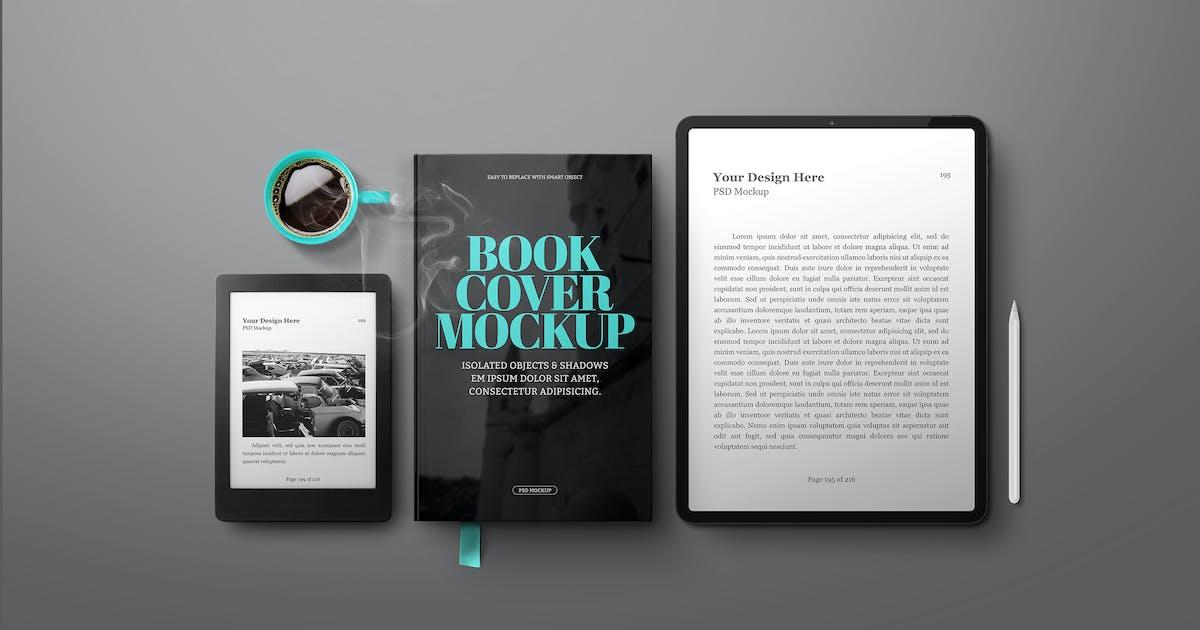 "Download E-Book Reader Mockup Tablet Pro 12.9"" by Easybrandz-AvelinaStudio"