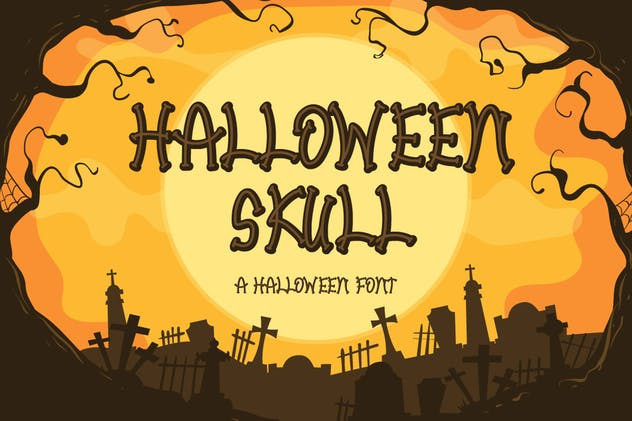 Halloween Skull - product preview 0