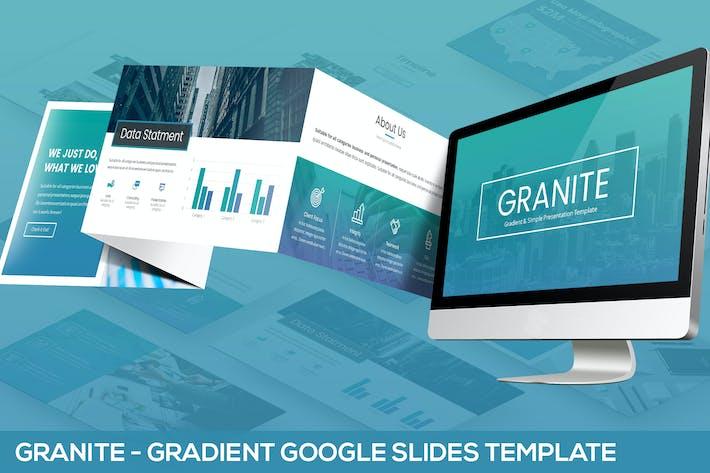 granite google slides template by slidefactory on envato elements. Black Bedroom Furniture Sets. Home Design Ideas