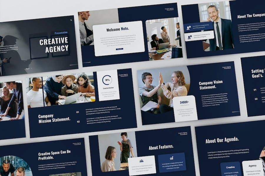 Creative Agency Powerpoint Presentation Template