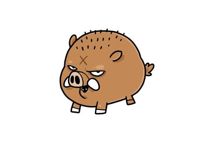 Wild Boar - Character RG