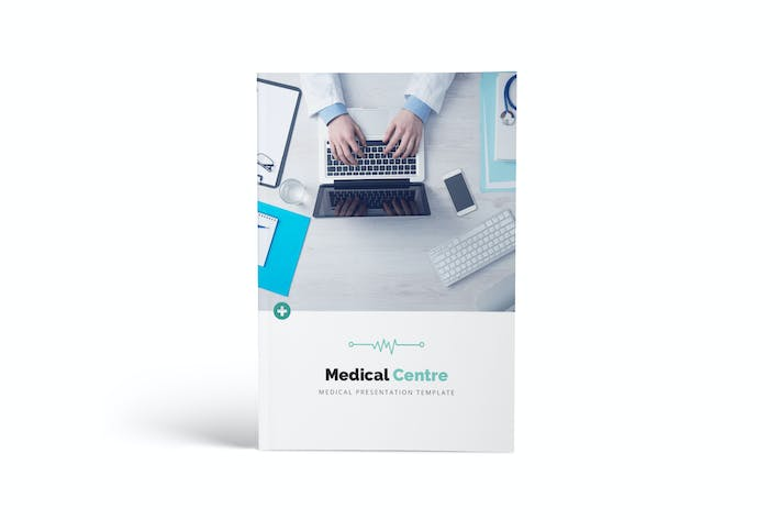 Thumbnail for Medical Center A4 Brochure Template