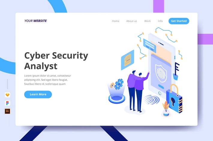 Thumbnail for Cyber Security Analyst - Landing Page