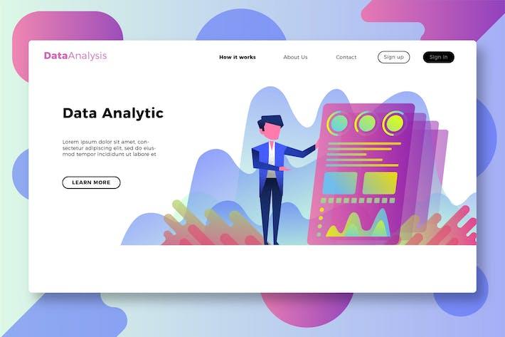Thumbnail for Data Analysis - Banner & Landing Page