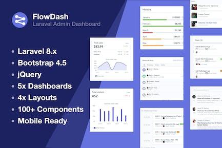 Laravel Admin Dashboard