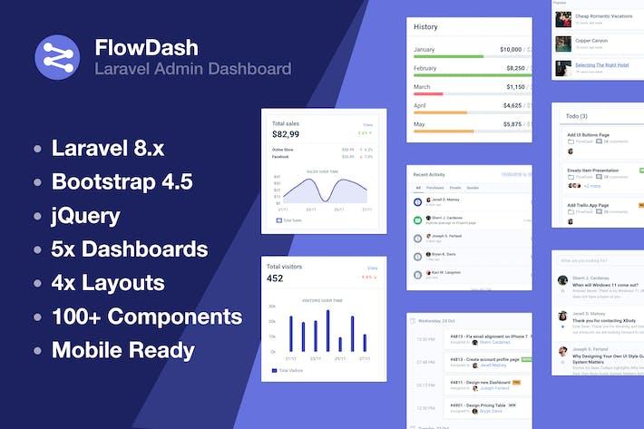 Thumbnail for Laravel Admin Dashboard