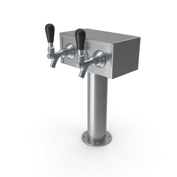 Thumbnail for Beer Dispenser Kegerator Tower