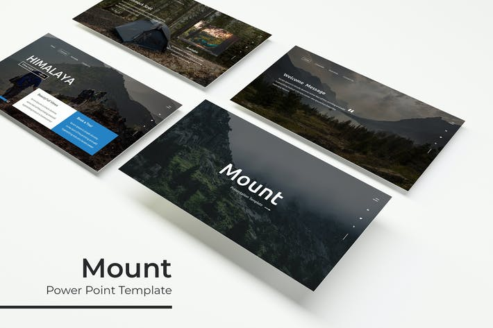 Thumbnail for Mount - PowerPoint Template