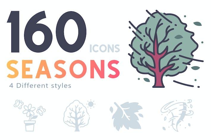 Thumbnail for 160 Jahreszeiten Ikonensatz