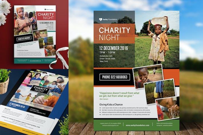 Cover Image For dépliant sur les événements caritatifs